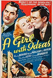 A Girl with Ideas Poster