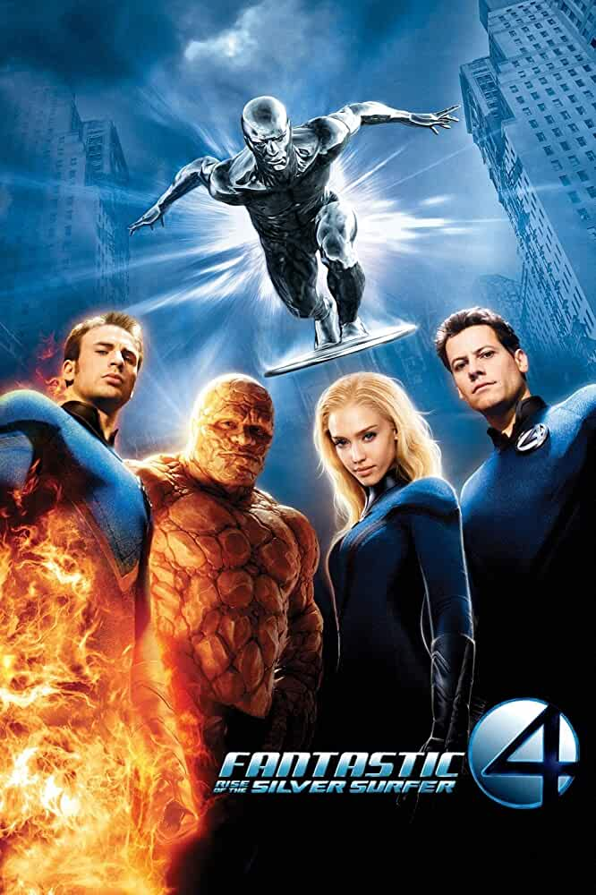 Fantastic Four 2 Rise of the Silver Surfer 2007 Hindi Dual Audio 720p BluRay ESubs full movie watch online freee download at movies365.lol