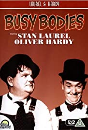 Busy Bodies (1933) Poster - Movie Forum, Cast, Reviews