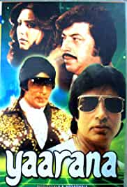Yaarana (1981) Hindi Movie DVDRip 800MB MKV
