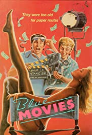 Blue Movies (1988) Poster - Movie Forum, Cast, Reviews