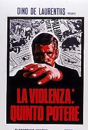La violenza: Quinto potere Poster