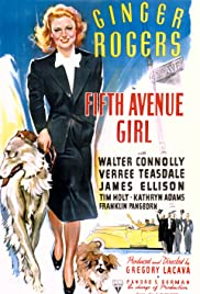 Fifth Avenue Girl Poster