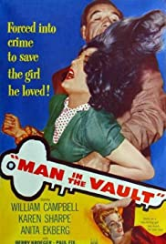 Man in the Vault(1956) Poster - Movie Forum, Cast, Reviews