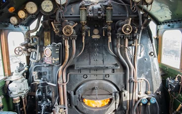 Flying Scotsman from the Footplate (2016)