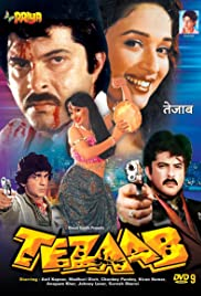Tezaab(1988) Poster - Movie Forum, Cast, Reviews