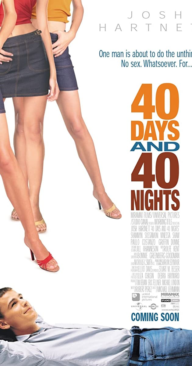 40 Days and 40 Nights parsisiusti atsisiusti filma nemokamai