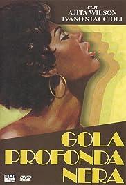 Gola profonda nera Poster