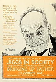 Jiggs in Society Poster