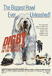 Digby, the Biggest Dog in the World (1973) Poster - Movie Forum, Cast, Reviews