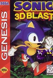 Sonic 3D Blast Poster