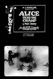 Alice Picks the Champ Poster