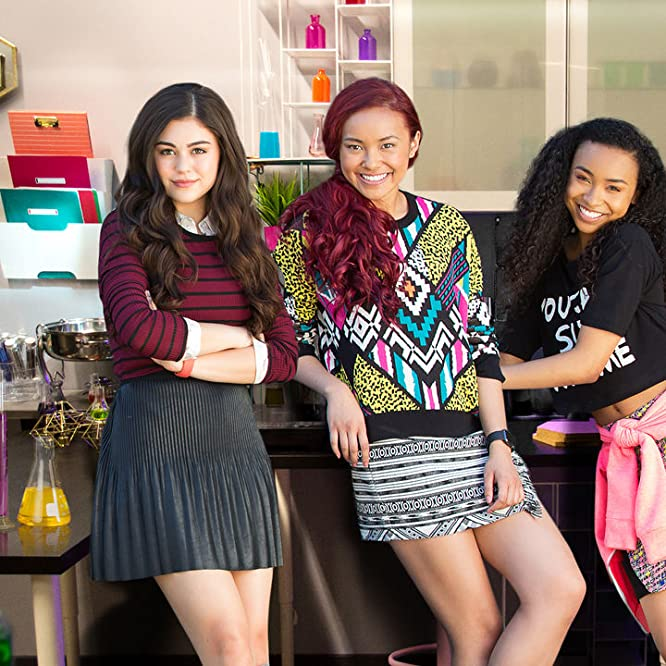 Mika Abdalla, Ysa Penarejo, Victoria Vida, and Genneya Walton in Project Mc² (2015)