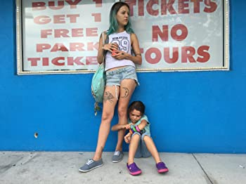 Brooklynn Prince and Bria Vinaite in The Florida Project (2017)