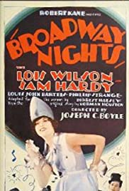 Broadway Nights Poster