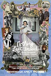 Nothing Left Unsaid: Gloria Vanderbilt & Anderson Cooper(2016) Poster - Movie Forum, Cast, Reviews
