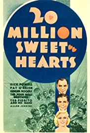 Twenty Million Sweethearts (1934) Poster - Movie Forum, Cast, Reviews