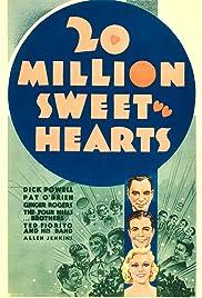 Twenty Million Sweethearts(1934) Poster - Movie Forum, Cast, Reviews