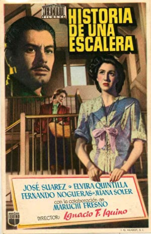 Historia de una escalera poster