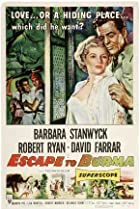 Image of Escape to Burma