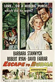 Escape to Burma (1955) Poster - Movie Forum, Cast, Reviews