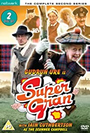 Supergran and the State Visit Poster