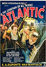 Atlantic (1929) Poster - Movie Forum, Cast, Reviews