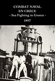 Naval Combat in Greece Poster