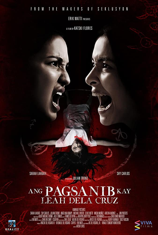 Ang pagsanib kay Leah Dela Cruz (2017) HDRip