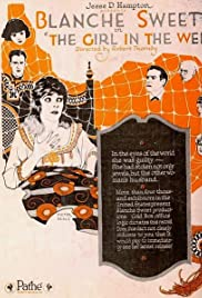The Girl in the Web Poster