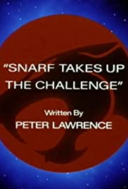 Snarf Takes Up the Challenge Poster