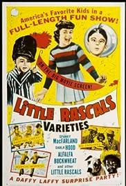Little Rascals Varieties Poster