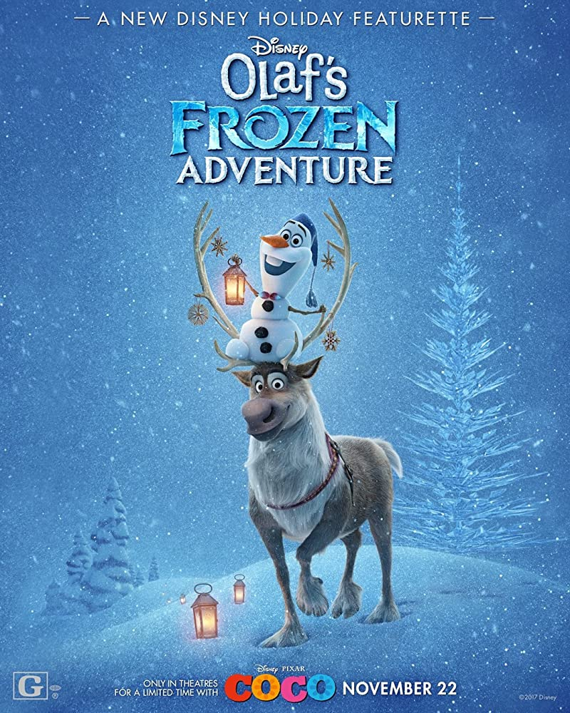 Olaf's Frozen Adventure Movie Poster
