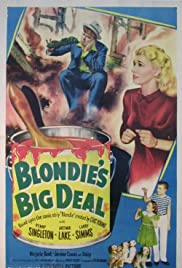 Blondie's Big Deal Poster