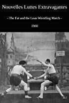 Image of The Fat and the Lean Wrestling Match
