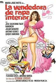 La vendedora de ropa interior Poster