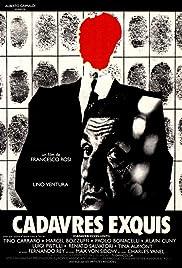 Cadaveri eccellenti Poster