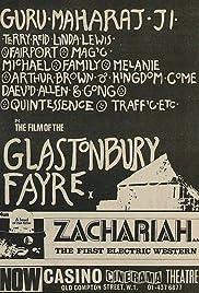 Glastonbury Fayre Poster