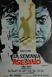 La semana del asesino Poster
