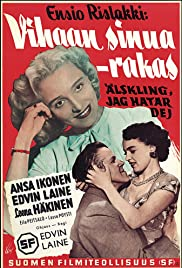 Vihaan sinua - rakas Poster