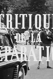 Critique de la séparation (1961) Poster - Movie Forum, Cast, Reviews