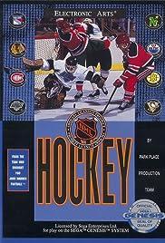 NHL Hockey Poster
