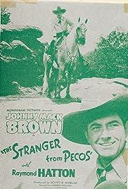The Stranger from Pecos Poster