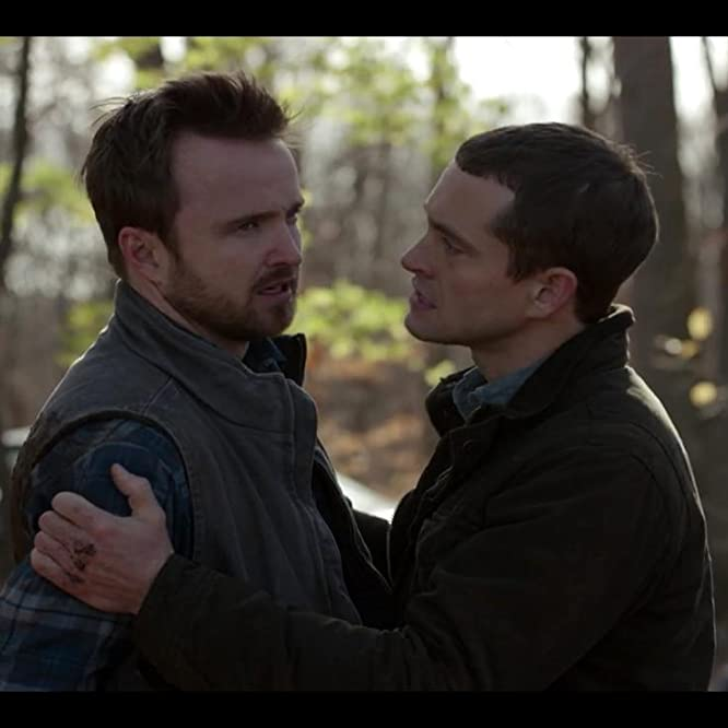 Hugh Dancy and Aaron Paul in The Path (2016)