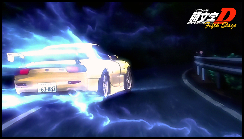 Initial d fifth stage english episode 1