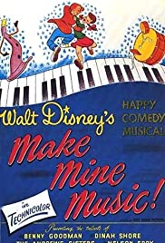 Make Mine Music (1946) Poster - Movie Forum, Cast, Reviews