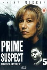 Prime Suspect 5: Errors of Judgement Poster - TV Show Forum, Cast, Reviews