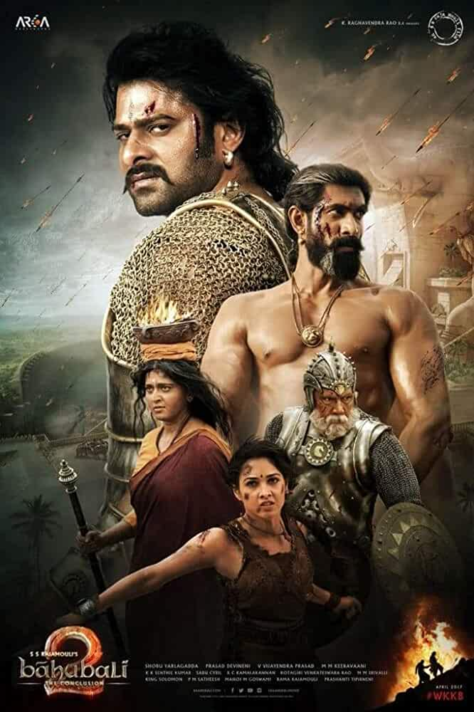 Poster Baahubali 2 (2017) Full HD Movie Download Free In Hindi 720p