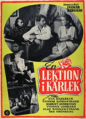 A Lesson in Love poster