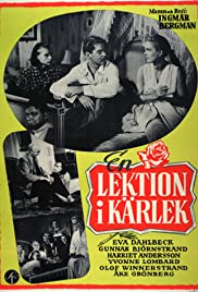 A Lesson in Love (1954) Poster - Movie Forum, Cast, Reviews